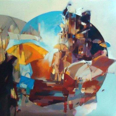 3002 - Bülent Yavuz Yılmaz - Yağmurda Yürüyüş